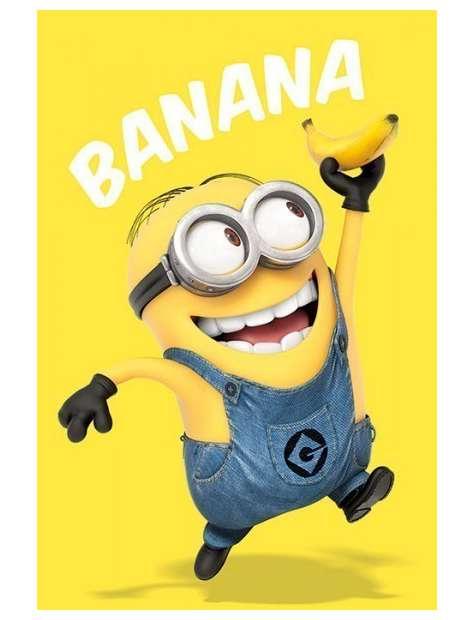 Minionki rozrabiają Banana - plakat