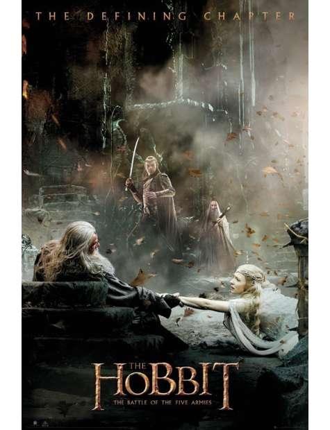 Hobbit Bitwa Pięciu Armii Konsekwencje - plakat