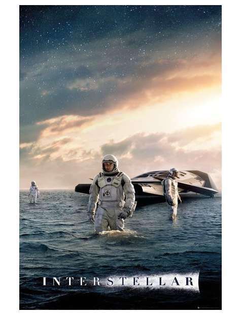 Interstellar Odkrywanie - plakat