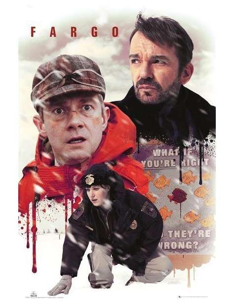 Fargo Kolaż - plakat