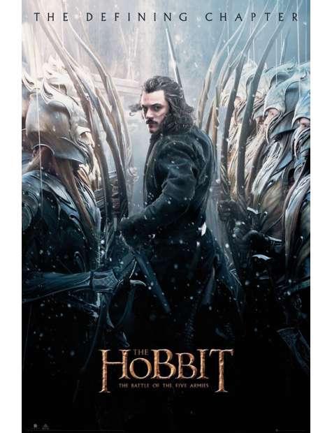 Hobbit Bitwa Pięciu Armii Bitwa - plakat