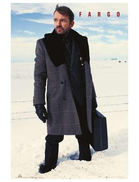 Fargo Lorne Malvo Zakrwawiony Śnieg - plakat