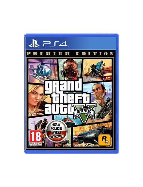 GTA 5 Premium Edition PS4-46499