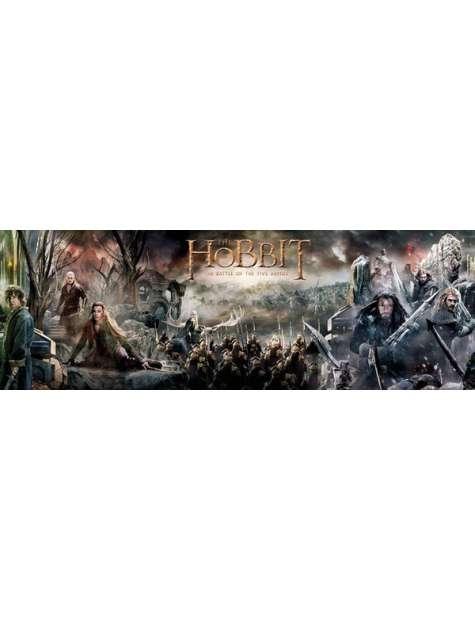 The Hobbit Kolaż - plakat