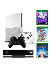 Xbox One S 1TB 2 Pady Rivals JD18 Kinect Disneylan-40020