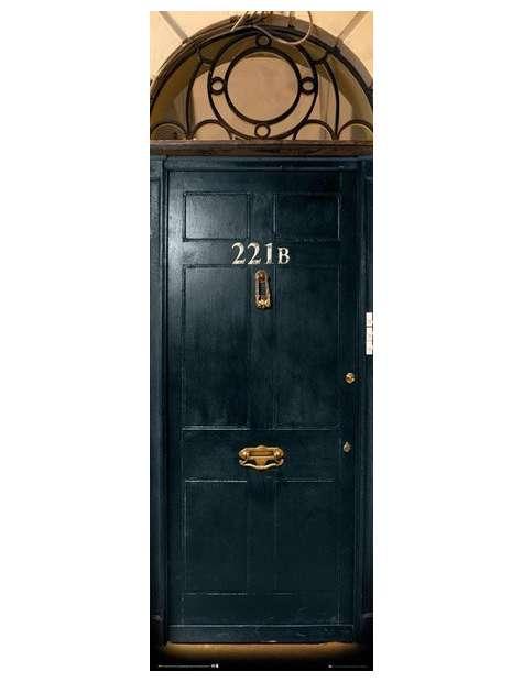 Sherlock 221 B - plakat