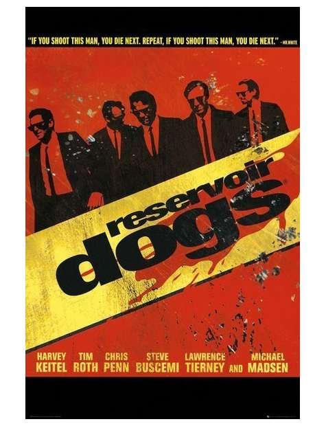 Wściekłe Psy. Reservoir Dogs - plakat