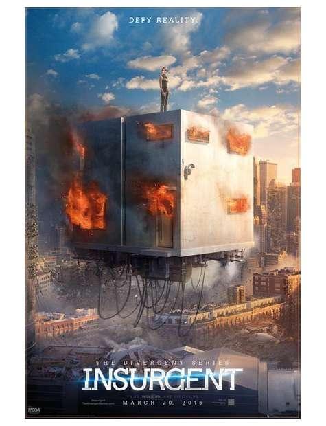 Zbuntowana Insurgent Defy Reality - plakat