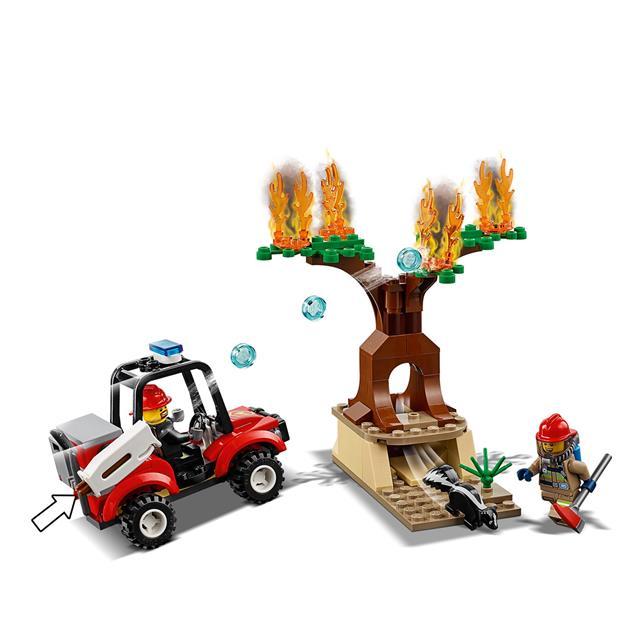 Lego City 60217: Samolot strażacki