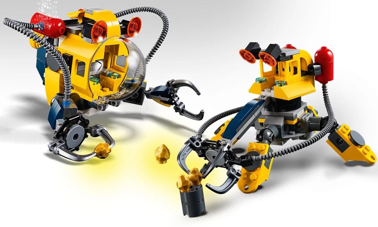 Lego Creator 31090: Podwodny Robot 3 w 1