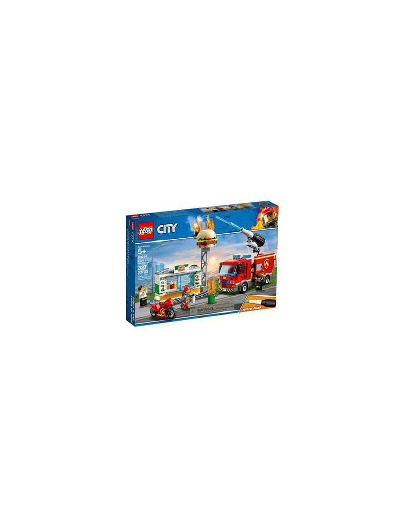 Klocki Lego City 60214 Na ratunek w Płonącym Barze