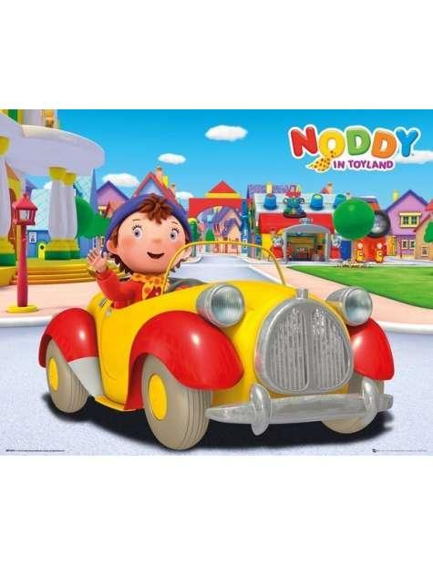 Noddy w Aucie - plakat