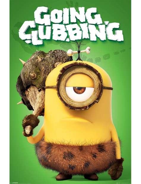 Minionki Going Clubbing - plakat