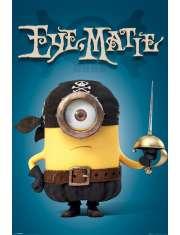 Minionki Eye Matie - plakat