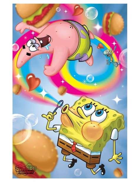 SpongeBob Tęcza - plakat
