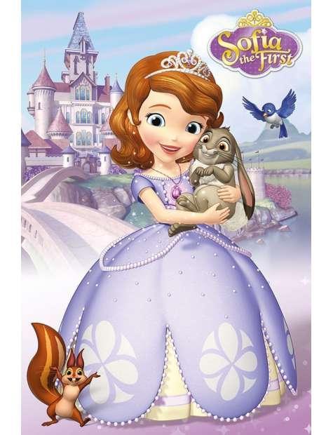 Jej Wysokość Zosia Bohaterowie - plakat