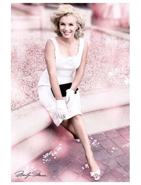 Marilyn Monroe Plaza Hotel - plakat