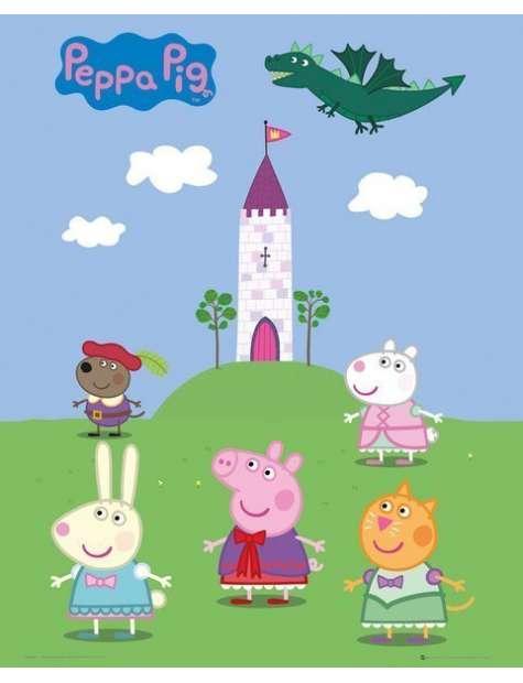 Świnka Peppa Opowieści Wróżki - plakat