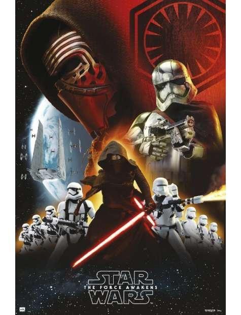 Star Wars Gwiezdne Wojny Przebudzenie Mocy - plakat