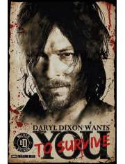 The Walking Dead Daryl Needs You - plakat