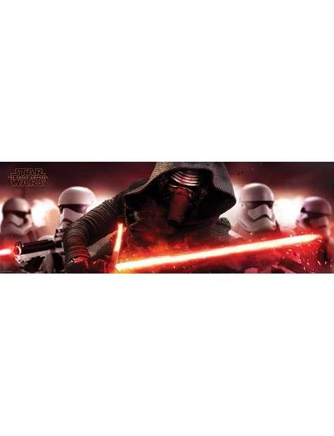 Star Wars Gwiezdne Wojny Przebudzenie Mocy - Kylo Ren i Szturmowcy - plakat