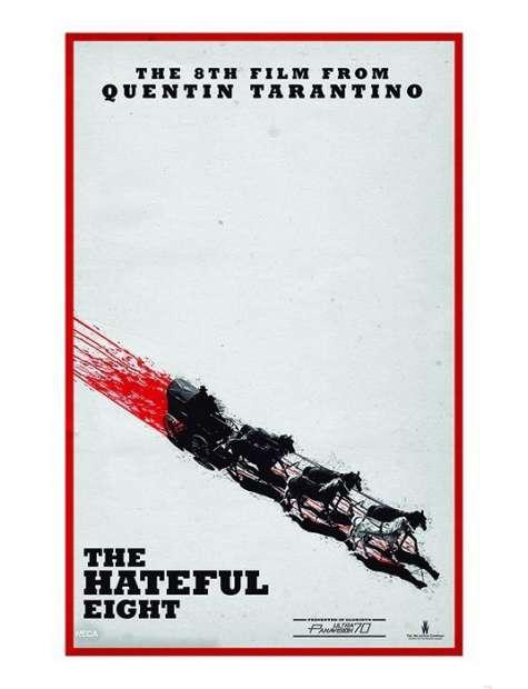 Nienawistna Ósemka - Quentin Tarantino - plakat