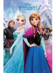 Kraina Lodu Frozen Las - plakat