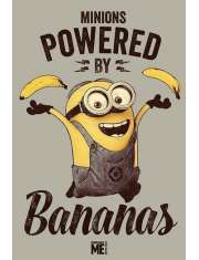 Minionki Rozrabiają Powered by Bananas - plakat