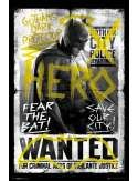 Batman v Superman Batman Wanted - plakat