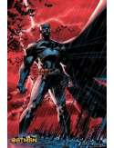 Batman Red Bats - plakat