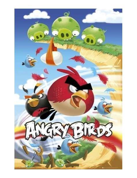 Angry Birds Atak - plakat