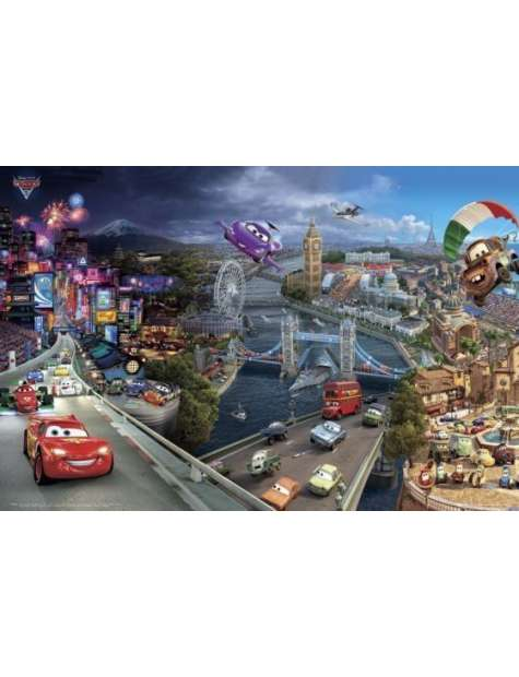 Auta 2 Cars 2 World Tour - plakat