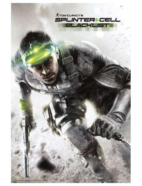 Splinter Cell Blacklist - plakat