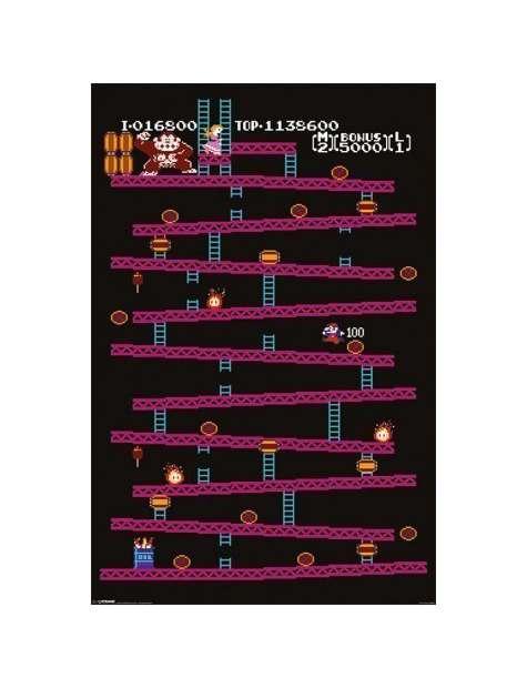 Donkey Kong NES - plakat