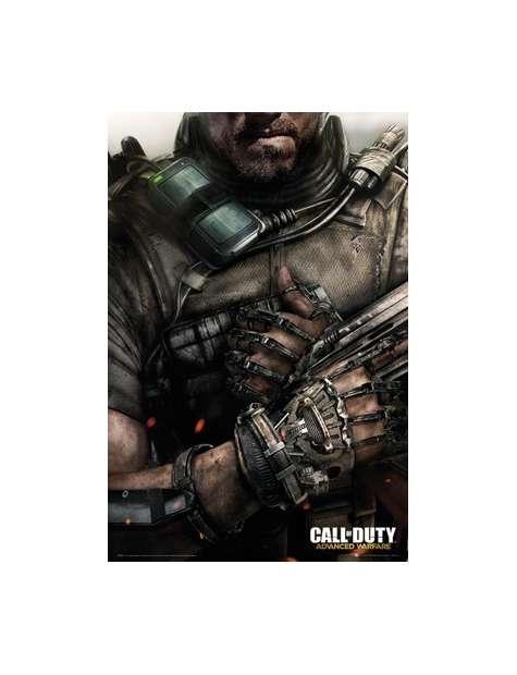 Call of Duty Advanced Warfare Egzoszkielet - plakat