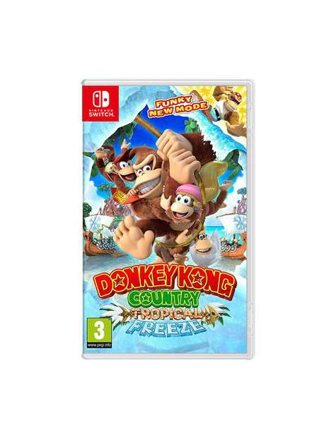 Donkey Kong Country Tropical Freeze NDSW-31465