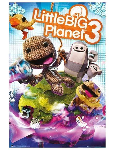 Little Big Planet 3 - plakat