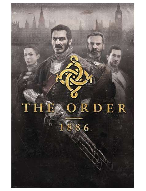 The Order 1886 - plakat