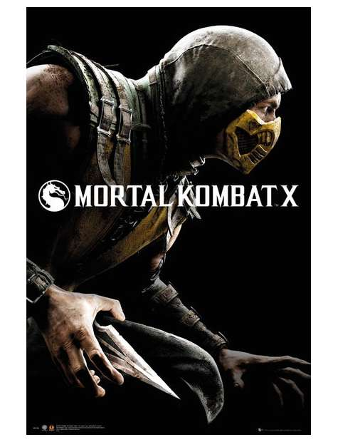 Mortal Kombat X - plakat