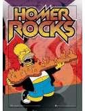 The Simpsons homer rocks - plakat 3D
