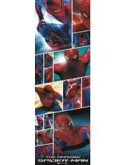 Niesamowity Spiderman collage - plakat