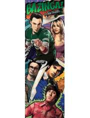 The Big Bang Theory - Komiks - plakat