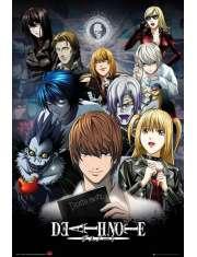 Notatnik śmierci Death Note Kolaż - plakat