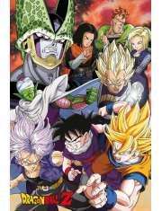 Dragon Ball Z Cell Saga - plakat