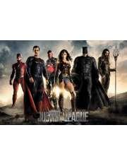 Liga Sprawiedliwości Bohaterowie - plakat
