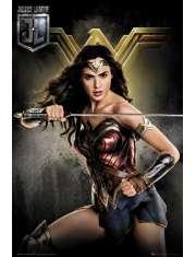 Liga Sprawiedliwości Wonder Woman - plakat