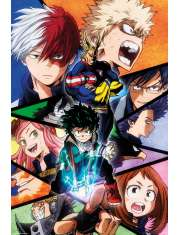 My Hero Academia Mix - plakat