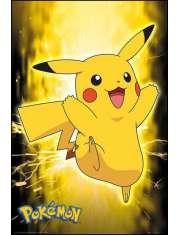 Pokemon Pikachu Błyskawica - plakat