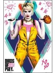 Birds of Prey Ptaki Nocy Harley Quinn - plakat