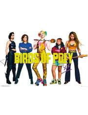 Birds of Prey Ptaki Nocy Obsada - plakat